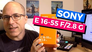 Sony 16-55 F2.8 G Obiettivo: IMPRESSIONI