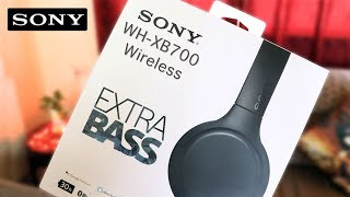 SONY WH-XB700 Wireless Headphones with EXTRA BASS | Unboxing & Overview | Mind Blowing!!!