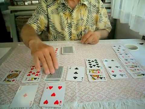 ASMR  #37  Comment Jouer aux cartes au Solitaire Klondike  Français Un Joueur