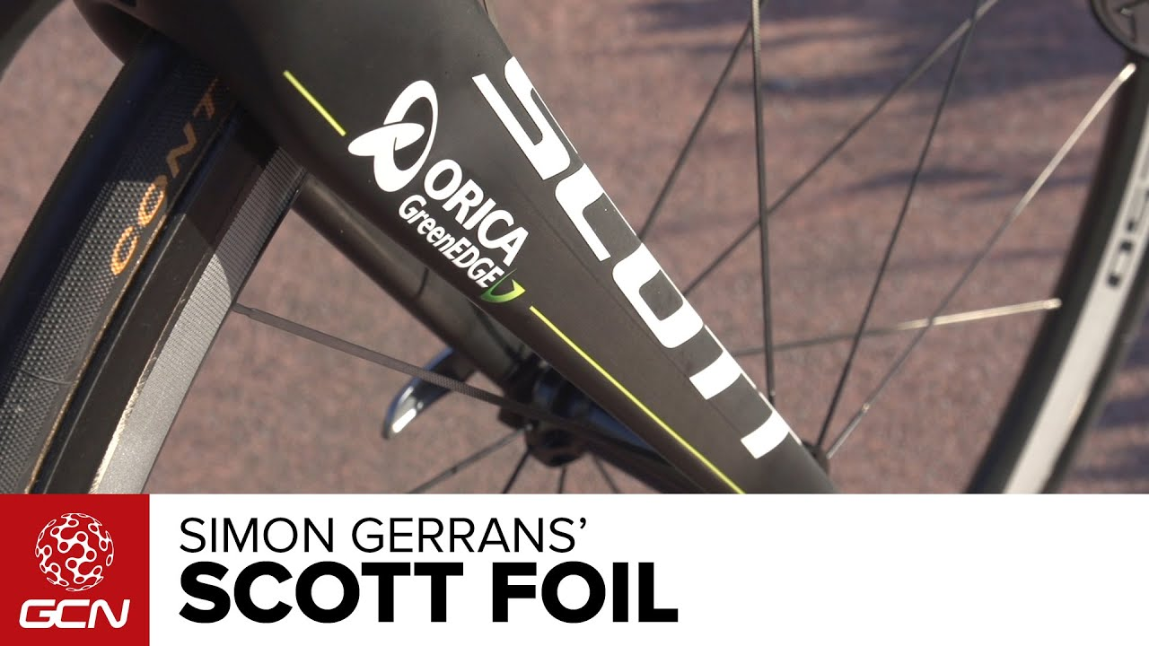 f75967f8a Simon Gerrans  Scott Foil - YouTube