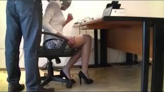 Seksi Sekreter Gizli Çekim Efsane Bacaklar HD