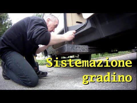 Schema Elettrico Gradino Camper : Vitaincamper cam sistemazione gradino youtube