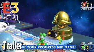 Mario Party Superstars - Reveal Trailer E3 2021 [HD 1080P]