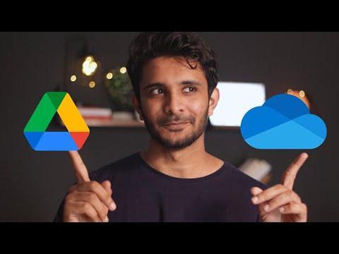 OneDrive vs Google Drive (Google One) - 2021