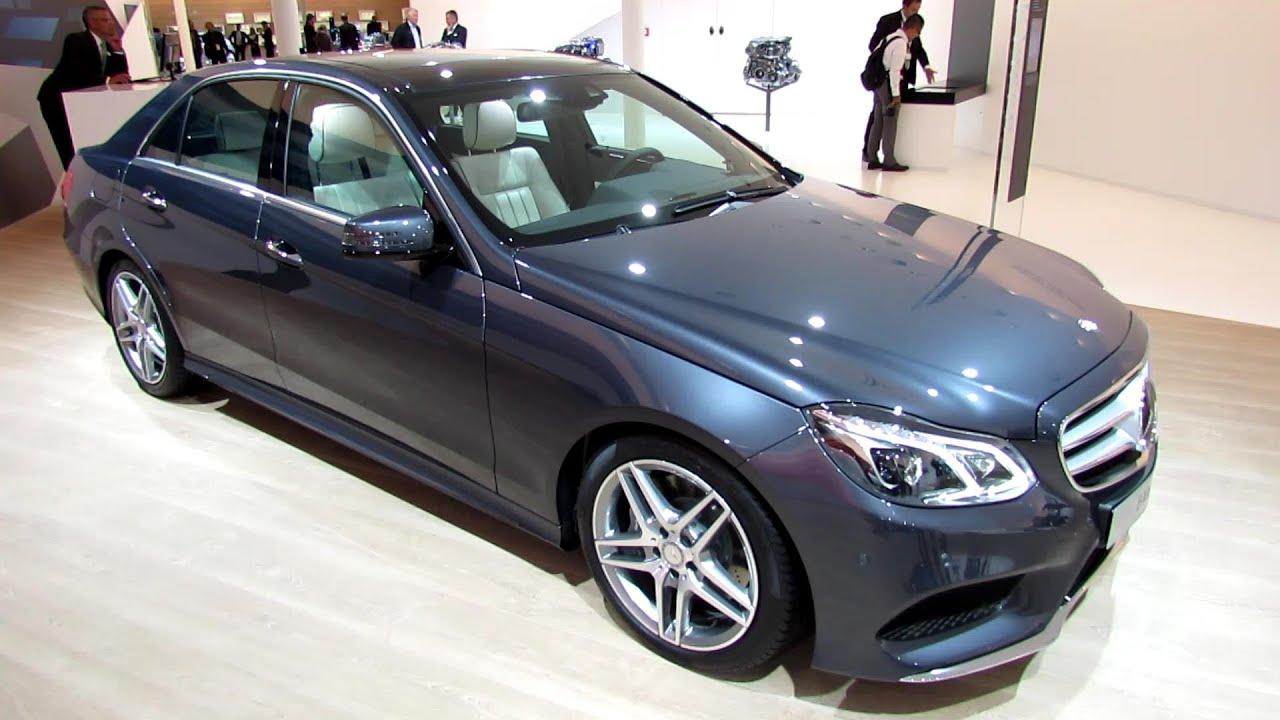 2014 Mercedes Benz E350 Bluetec   Exterior And Interior Walkaround 2013  Frankfurt Motor Show   YouTube