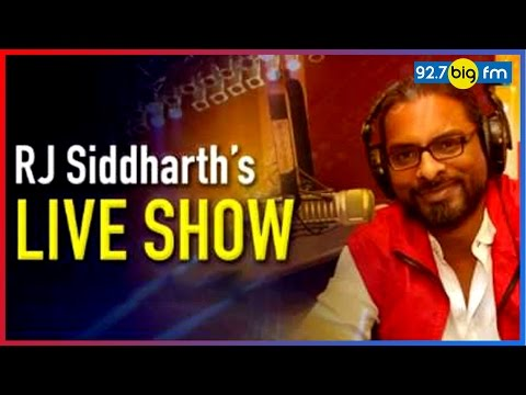 RJ Siddharth's Show Live From Zurich