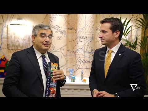 Senatori italian Luciano D'Alfonso viziton Tiranën - News, Lajme - Vizion Plus