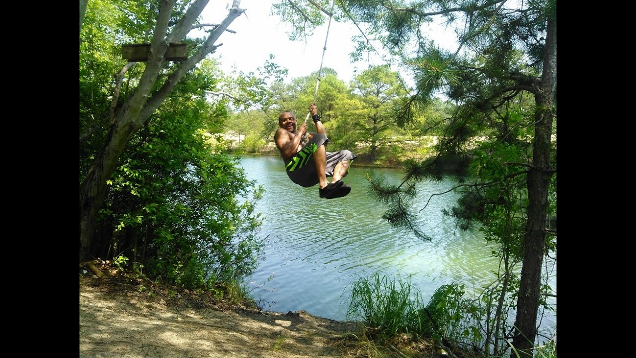 how to build a rope swing without a tree