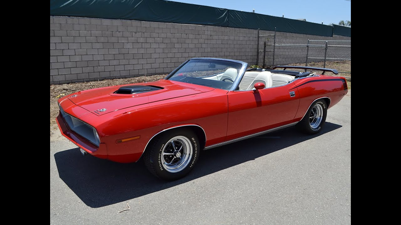 Sold 1970 Plymouth Hemi Cuda Re Creation Convertible For By Corvette Mike
