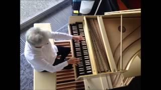 J.S. Bach - Lobt Gott, ihr Christen, allzugleich, BWV 609, Rosalinde Haas, harpsichord