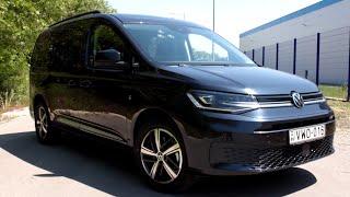 Volkswagen Caddy Move Maxi 2021 tesztvezetés Kelemen Lászlóval