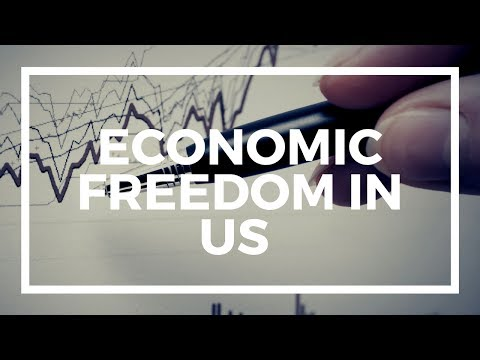 Economic freedom in the US - decreasing or not?
