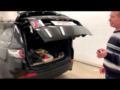 Discovery Sport. Электропривод багажника, навигация, камера заднего вида.