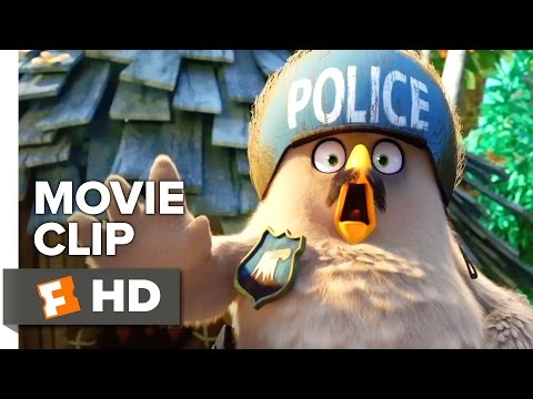 The Angry Birds Movie CLIP - Speeding Ticket (2016) - Jason Sudeikis Movie HD