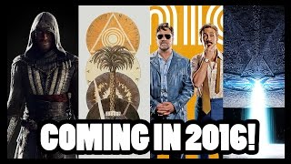 Most Anticipated Movies for 2016!