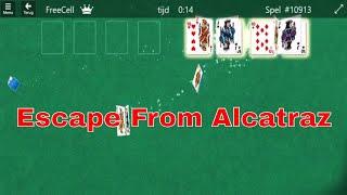 Microsoft Solitaire Collection   Escape From Alcatraz Achievement ( Win 10 )