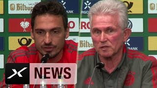 Jupp Heynckes und Mats Hummels zu Sandro Wagners DFB-Rücktritt   FC Bayern München   DFB-Team