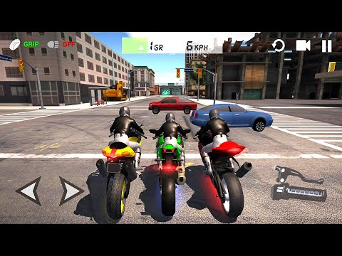 Ultimate Motorcycle Simulator 3d TOP 3 Sport Bikes - Bike Game Android