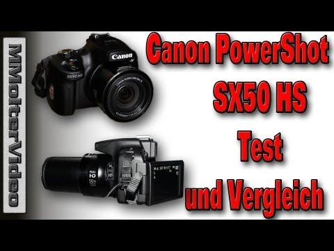 Canon PowerShot SX50 HS Test und Vergleich