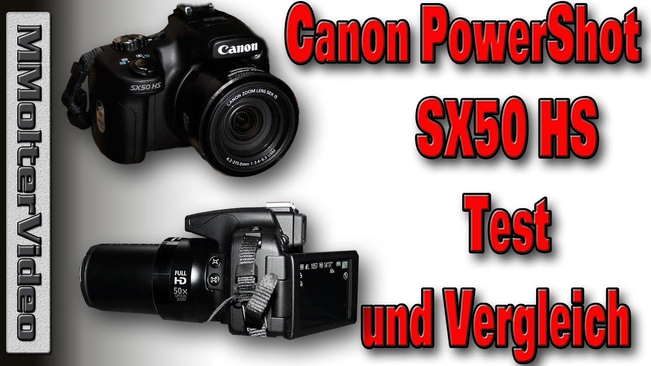 Canon Powershot Sx50 Hs Test Und Vergleich Youtube