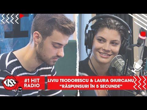 Răspunsuri în 5 secunde - Liviu Teodorescu și Laura Giurcanu