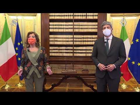 Giornata nazionale dell'infanzia: videomessaggio dei Presidenti Fico e Casellati