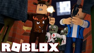 WALKING DEAD IN ROBLOX !? (Halo 5 Roblox Game)