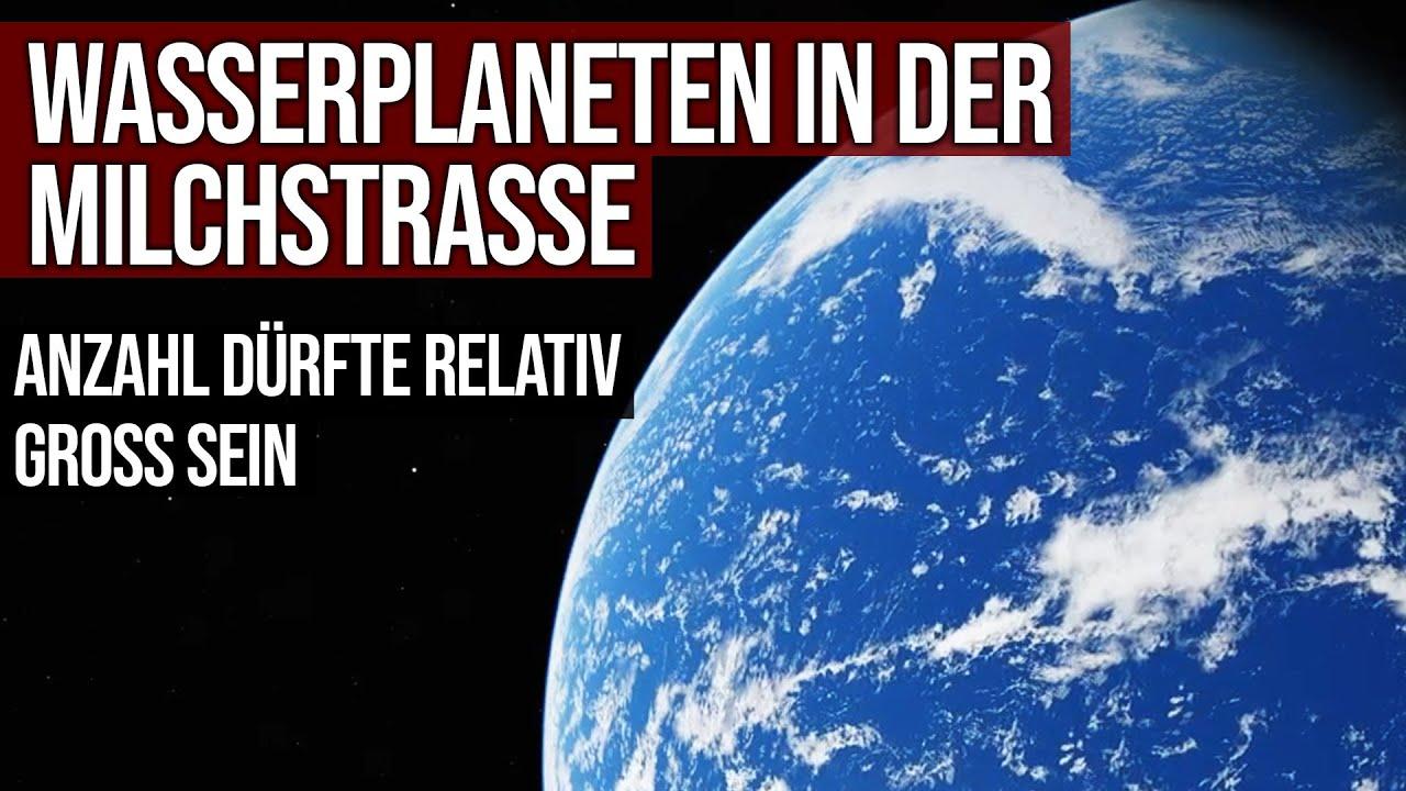 Wasserplaneten in der Milchstrasse - Anteil dürfte relativ hoch sein