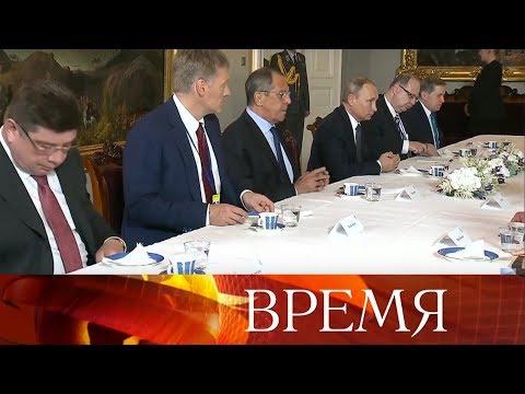 В.Путин на встрече
