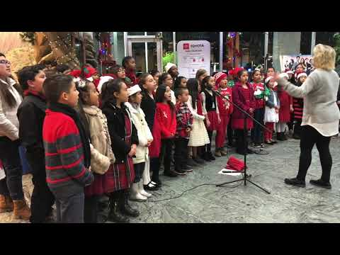 Fenton Avenue Charter School - 2018 Sheriff's Toy Drive - KHTS Radio