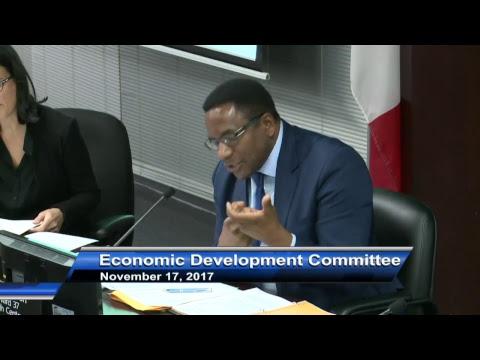 Economic Development Committee - November 17, 2017
