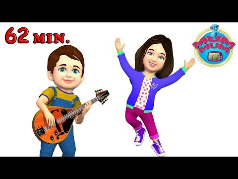 Clap Your Hands Song & more Nursery Rhymes Songs for Kids | Wheels on the bus | Mum Mum TV