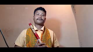 Din jole rati jole assamese songs flute by Nipun Baro