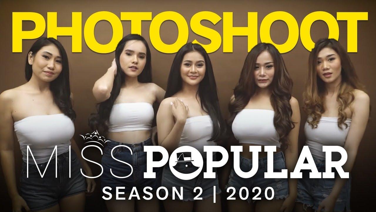Photoshoot Finalist Miss Popular Season 2 2020