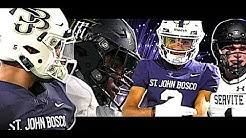 🔥🔥#1 Team in America St John Bosco BATTLE for Trinity League title vs a talented Servite squad
