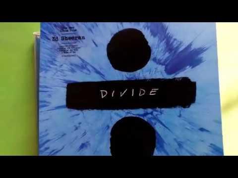 Unboxing!! - Ed Sheeran - Divide (Deluxe)