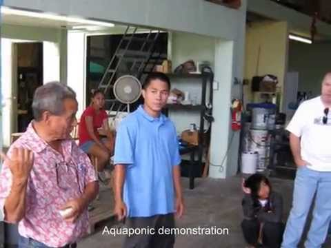 Aquaponics by waimanalo feed youtube for Waimanalo feed