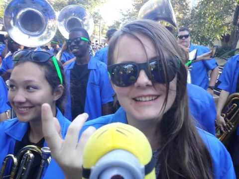 Dr. Faboulus meets Bulloch Blues Marching Band