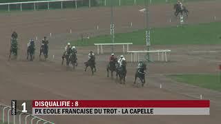 Vidéo de la course PMU PRIX ECOLE FRANCAISE DU TROT - LA CAPELLE