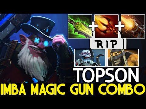 TOPSON [Sniper] Imba Magic Gun Combo One Shot Kill 7.21 Dota 2 thumbnail