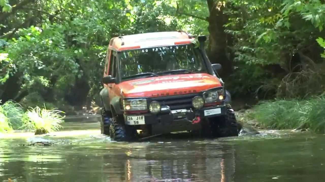 Land Rover Discovery TD5 & V8 ''offroad'' 04/08.2013 - YouTube