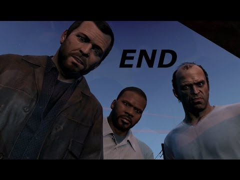 Grand Theft Auto 5 Gameplay Walkthrough Part 65-Ending/The Grand Finale (GTA 5 Gameplay)