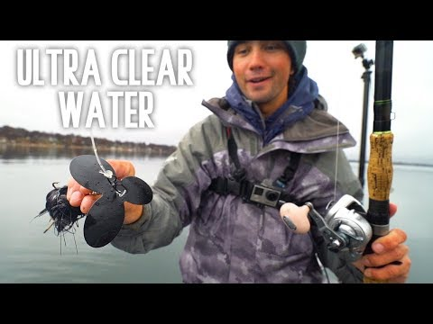 FISHING ULTRA CLEAR WATER MUSKY - MN Day 3