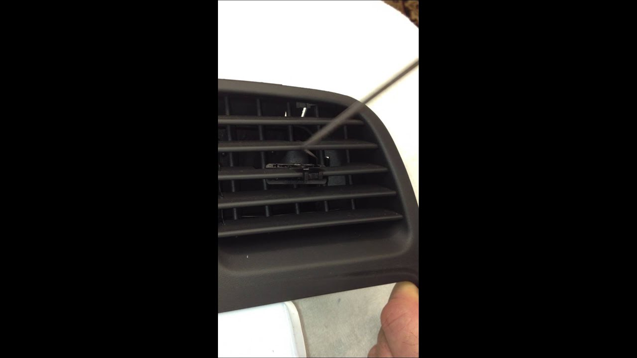 Mercedes benz center vent broken knob removal repair how for Mercedes benz restoration center