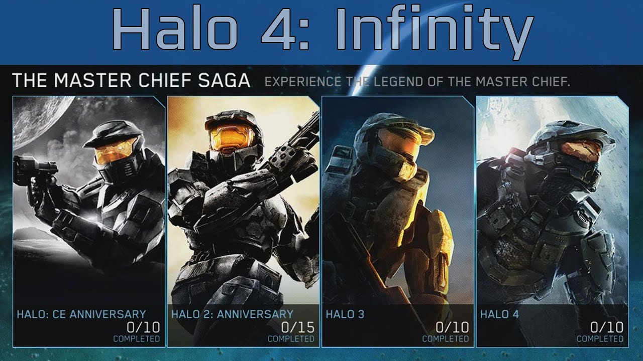 infinity 4 0. halo: the master chief collection - halo 4: infinity walkthrough [hd 1080p] 4 0