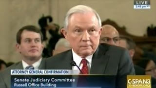 Jeff Sessions Attorney General Confirmation Hearing Part 3