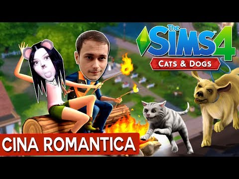 Cina romantica / The Sims 4 : Cats and Dogs