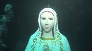 Its a Miracle Virgin Mary Statue Comes Alive Mother Mary Under Water