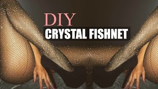 DIY ACCESSORY | INSTAGRAM TREND KYLIE JENNER CRYSTAL FISHNET