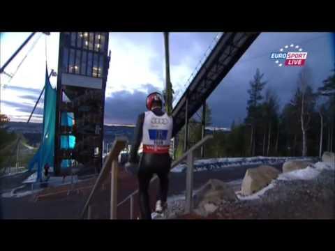 World Championship Falun 2015 Ski Jumping Team Mixed HS 100 1st Round